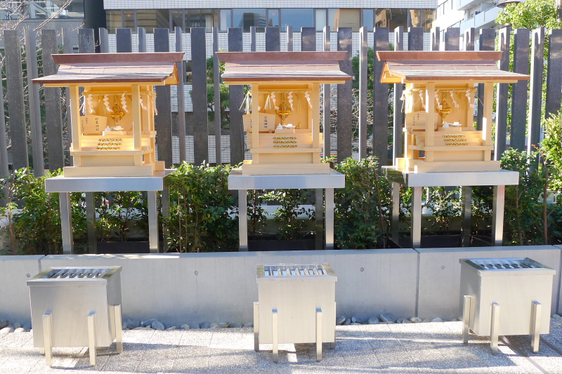 東京都中央区にある水天宮の境内社