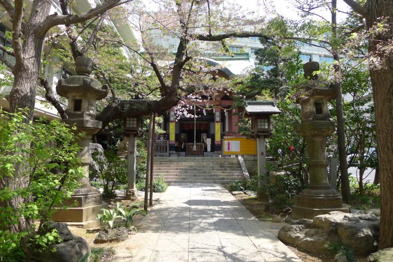 金刀比羅宮東京分社の境内