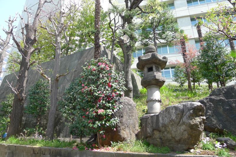 金刀比羅宮東京分社の裏庭