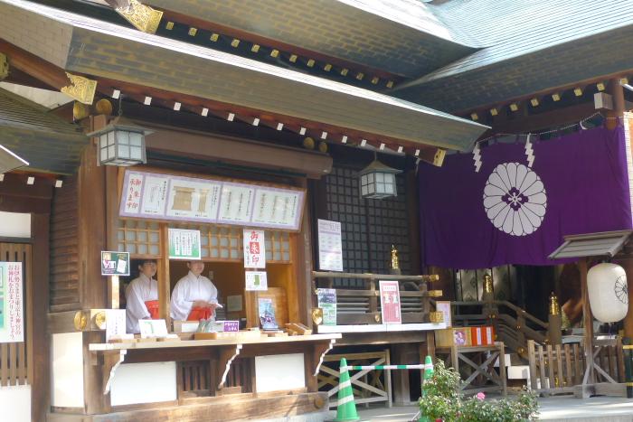 東京大神宮の授与所