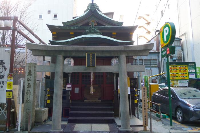 宝田恵比寿神社の外観