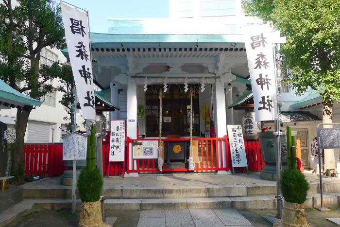 椙森神社の社殿