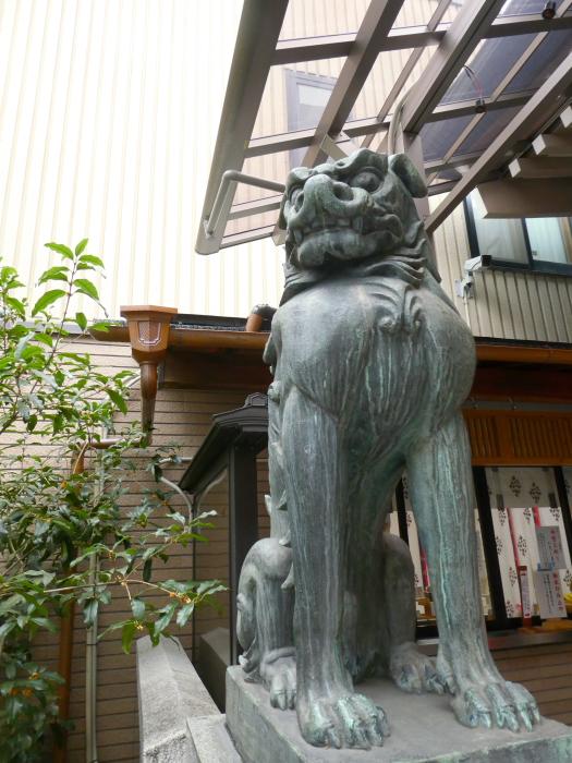 港区_十番稲荷神社 狛犬