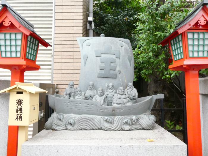 港区_十番稲荷神社 宝船