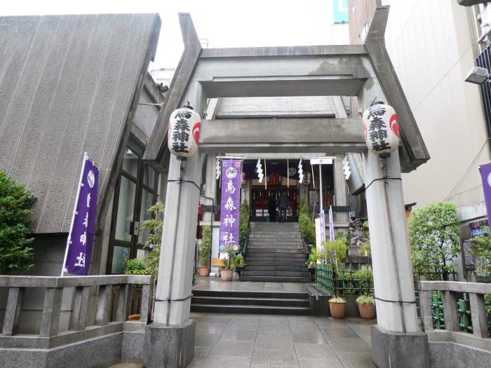 港区_新橋_烏森神社の二の鳥居