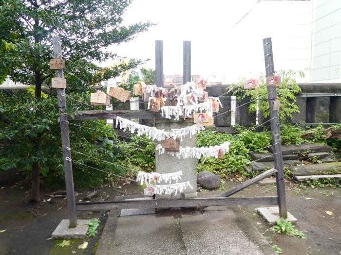 港区_麻布氷川神社の絵馬かけ