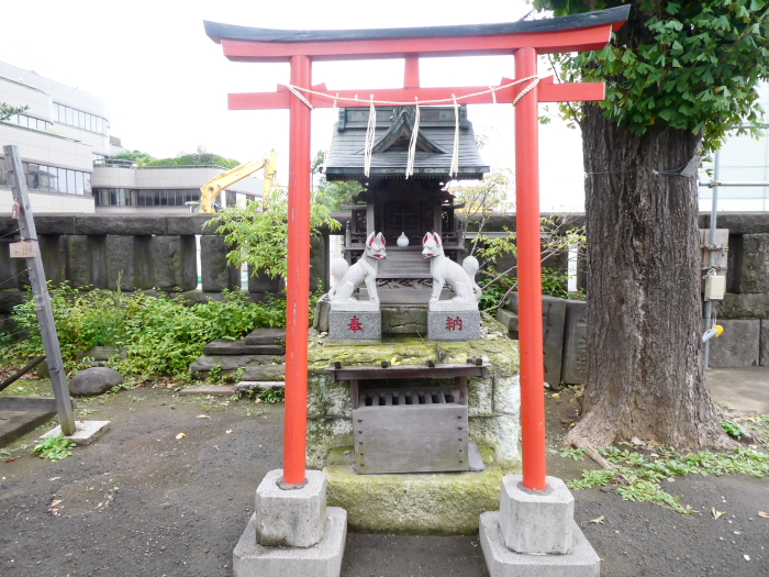 港区_麻布氷川神社の摂社