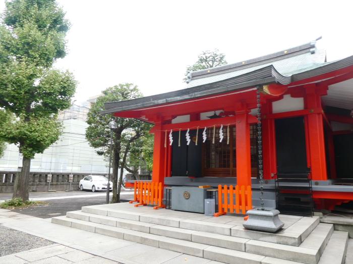 港区_麻布氷川神社社殿