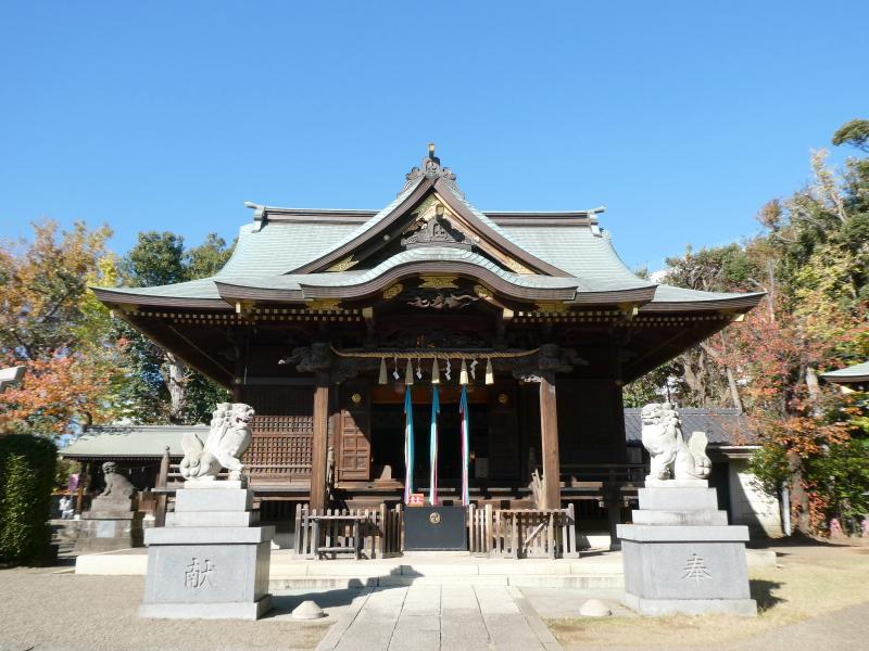 北区赤羽八幡神社の社殿