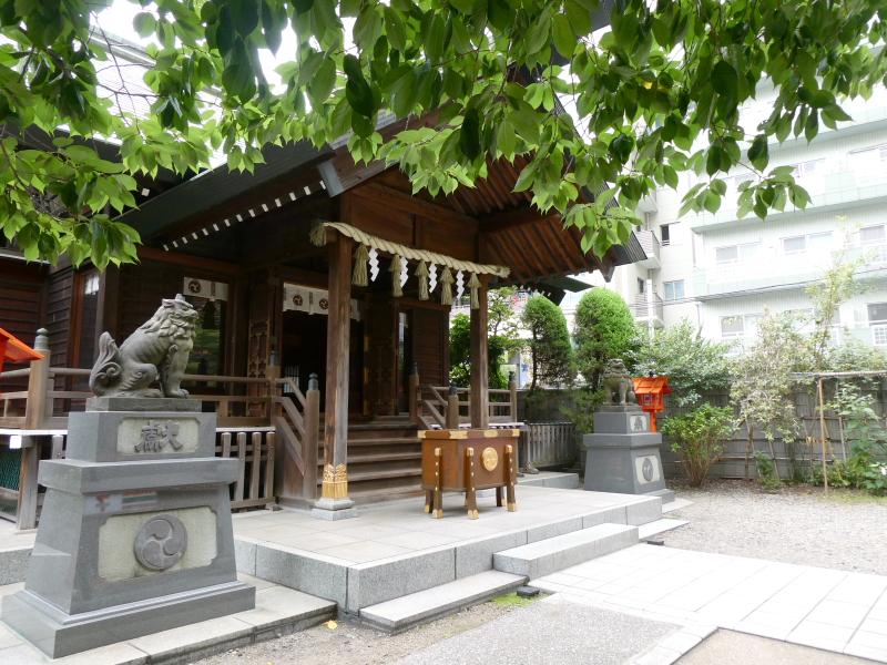 台東区_蔵前神社の社殿
