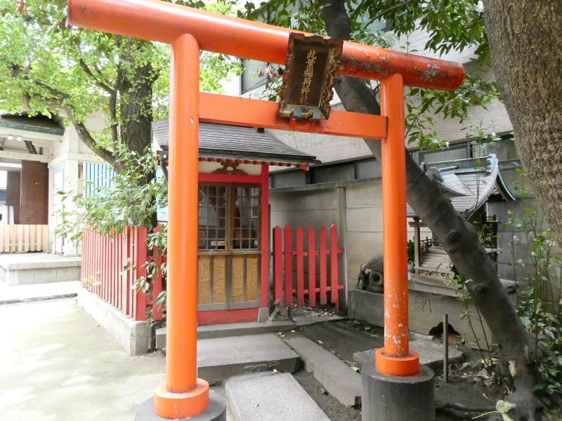 銀杏岡八幡神社の境内社は此葉稲荷神社(このはいなりじんじゃ)