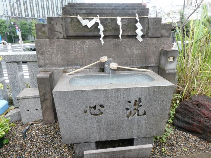 港区_日比谷神社の御手水