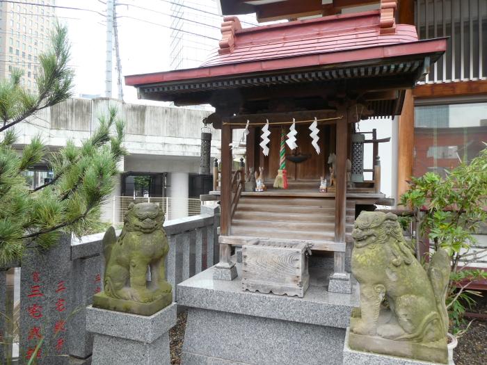 港区_日比谷神社の境内社 稲荷神社