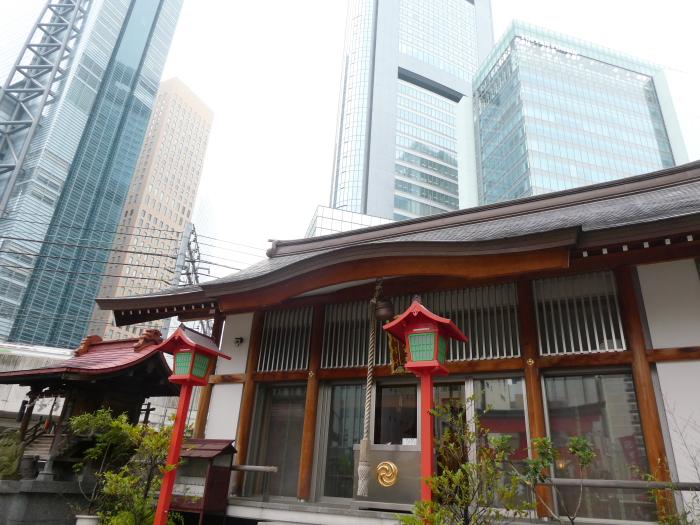 港区_日比谷神社の社殿
