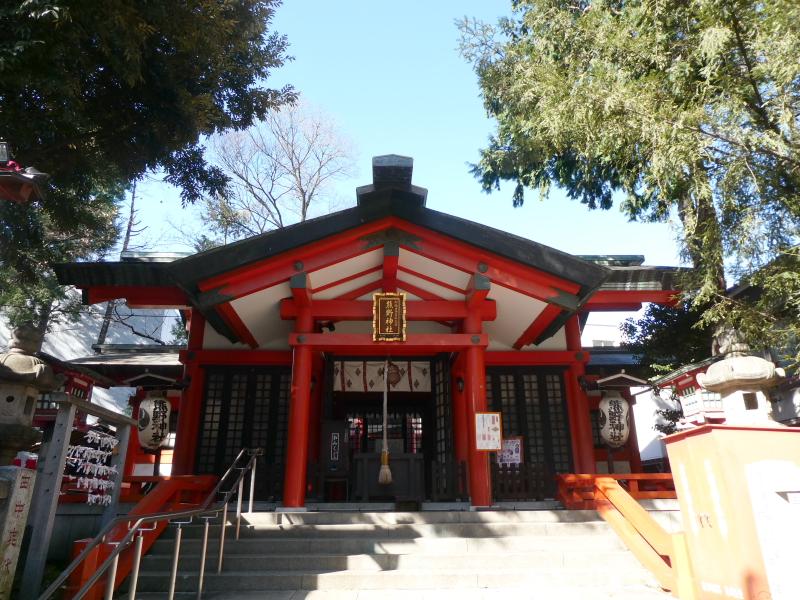 板橋区_熊野神社の社殿