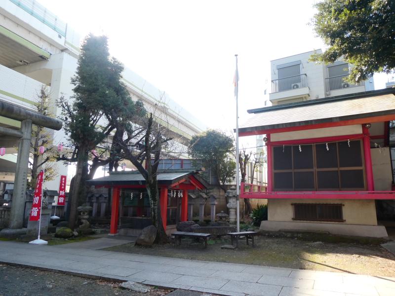 板橋区_熊野神社の神楽殿