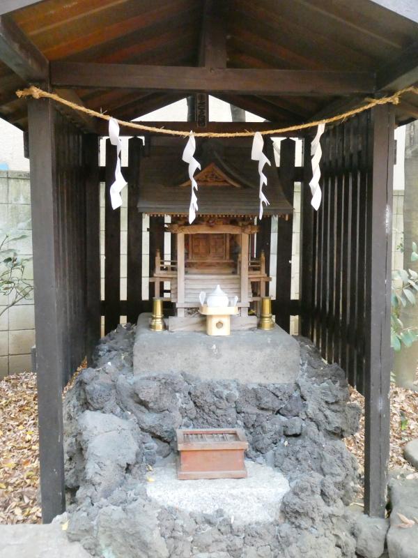 板橋区_熊野神社の境内社「厳島神社」