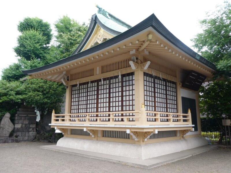 墨田区_白髭神社 神楽殿