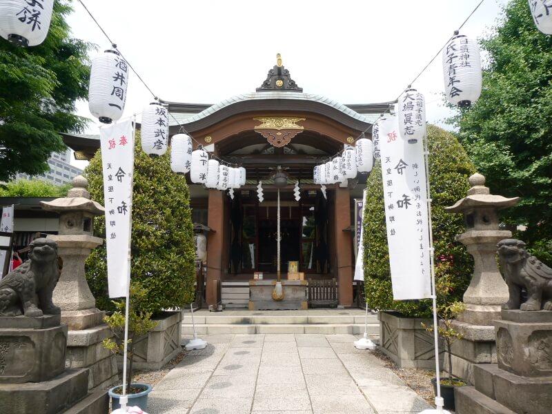 墨田区_白髭神社の社殿
