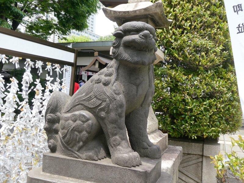 墨田区_白髭神社の狛犬