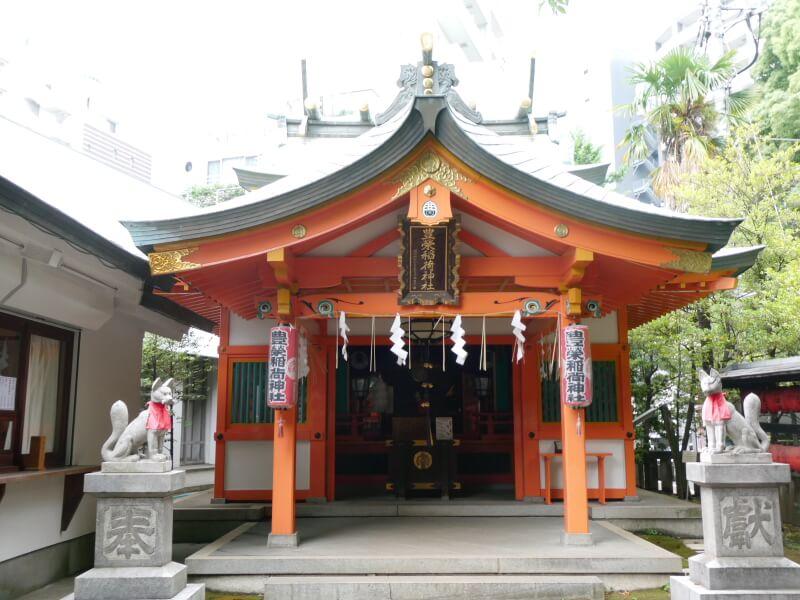 渋谷区_豊榮稲荷神社 社殿