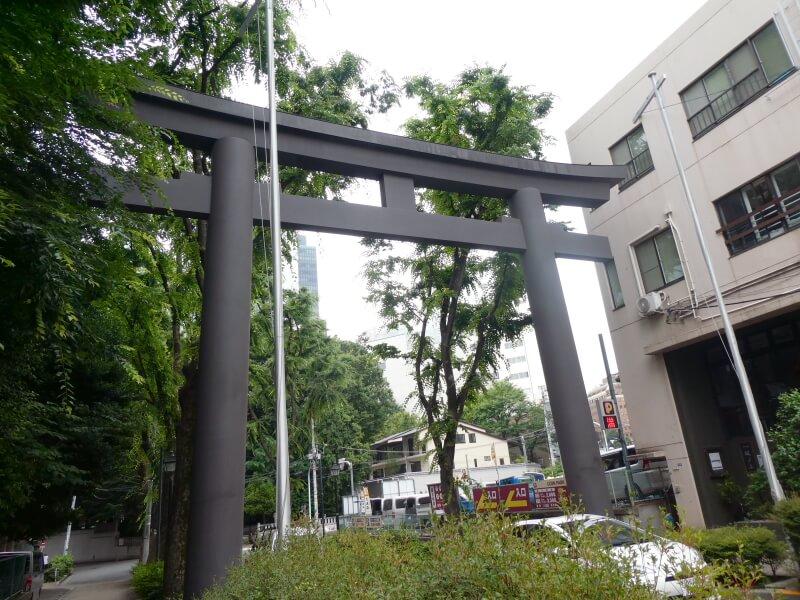 渋谷区_金王八幡宮 一の鳥居