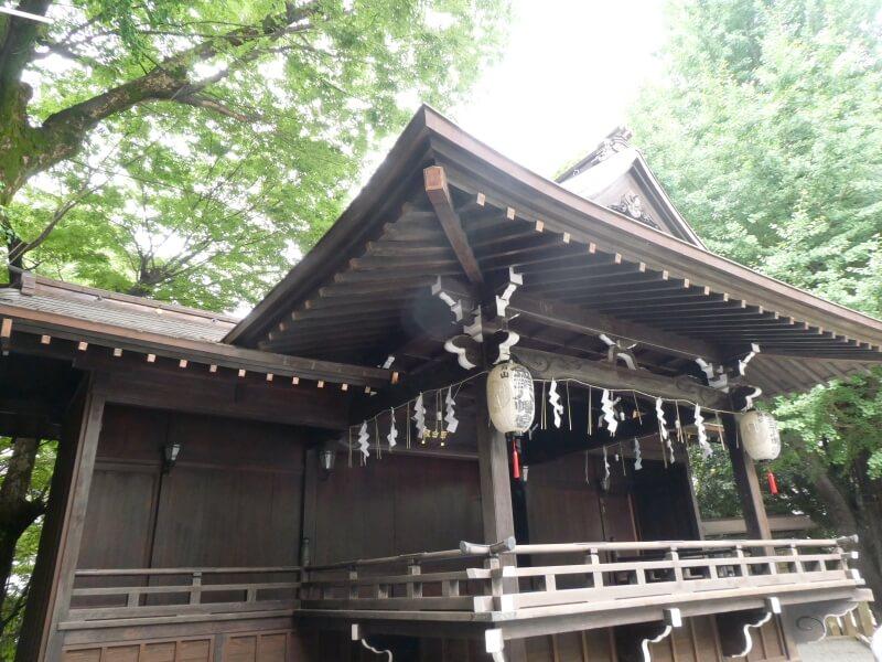 渋谷区_金王八幡宮 神楽殿