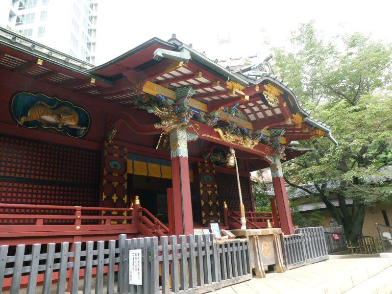 渋谷区_金王八幡宮 社殿