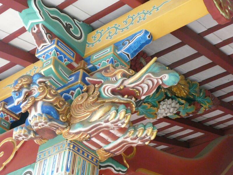 渋谷区_金王八幡宮 社殿の彫刻