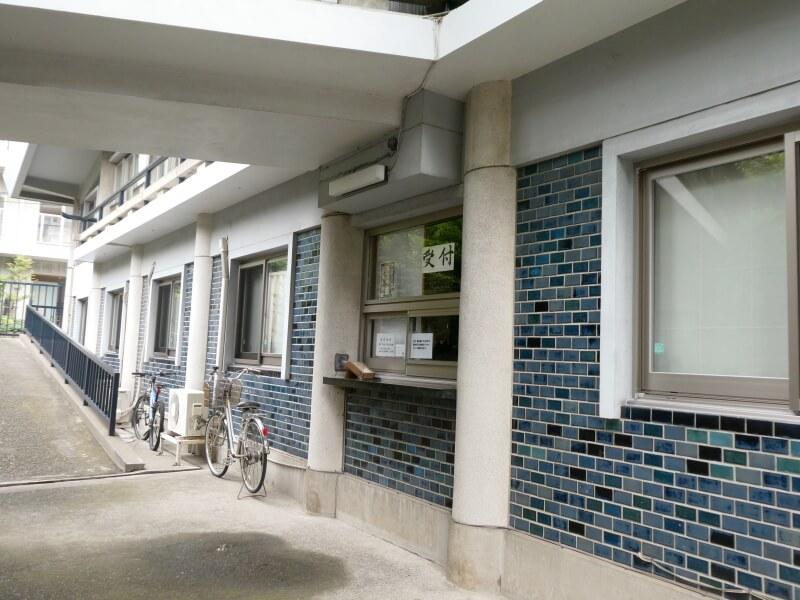 目黒大鳥神社の社務所
