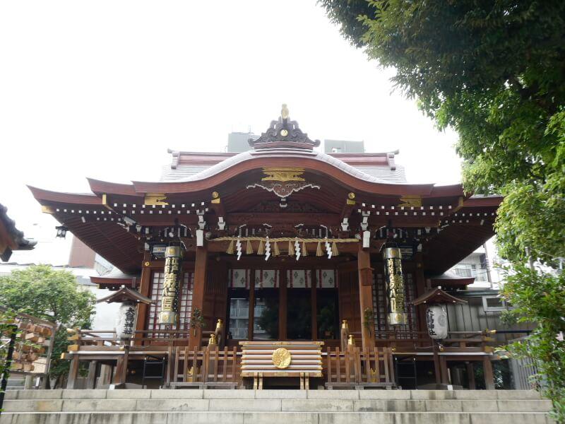 目黒大鳥神社の社殿